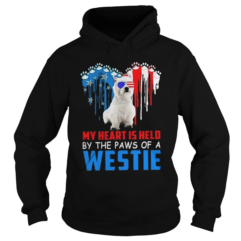 My Heart Is Held By The Paws Of A Westie Hoodie