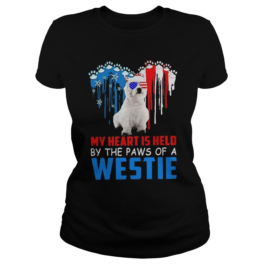 My Heart Is Held By The Paws Of A Westie Longsleeve