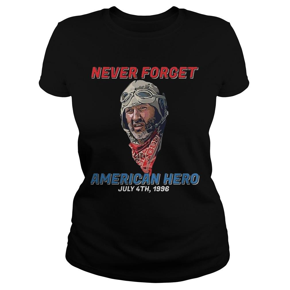 Never Forget American Hero July 4th 1996 Longsleeve
