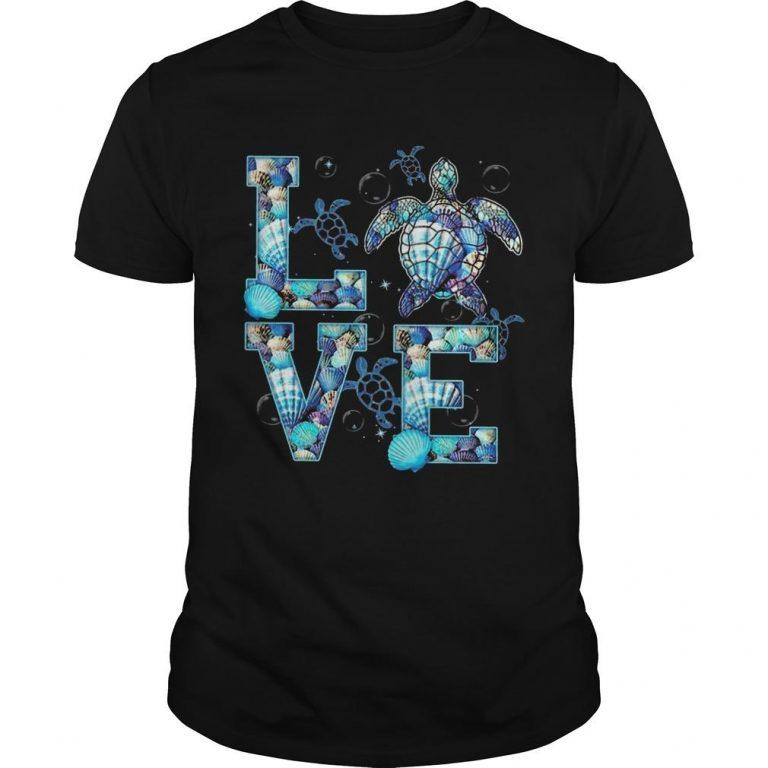 Ocean Turtle Love Shirt