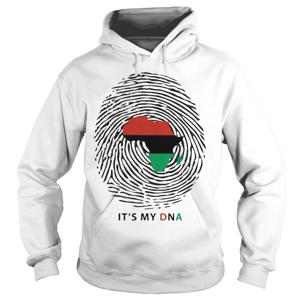Pan African Flag It's My Dna Hoodie