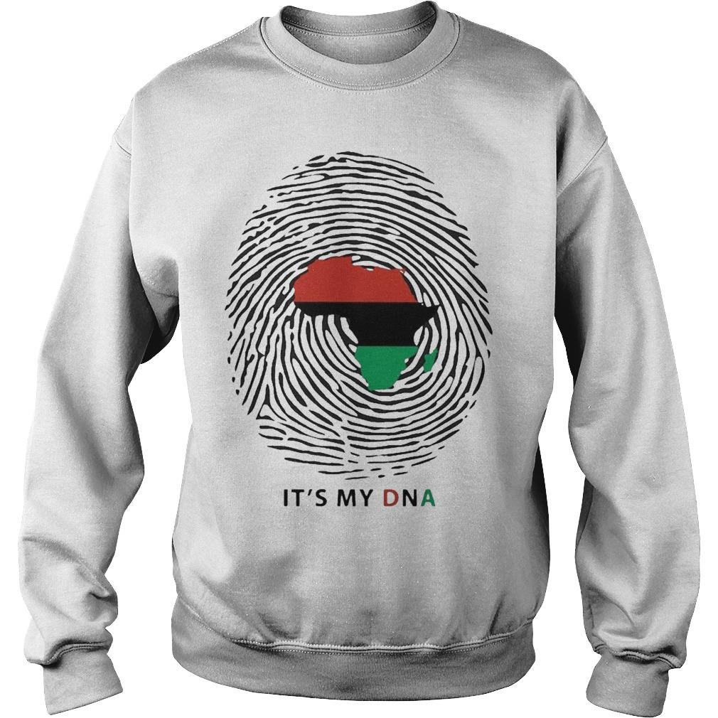 Pan African Flag It's My Dna Sweater