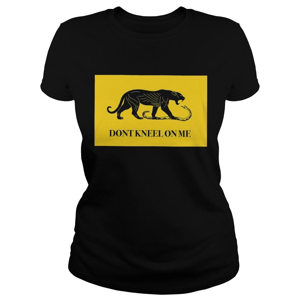 Panther Don't Kneel On Me Longsleeve