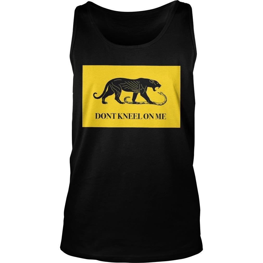 Panther Don't Kneel On Me Tank Top