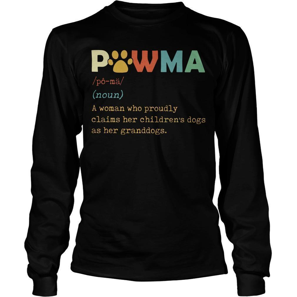 Pawma A Woman Who Proudly Claims Her Children's Dogs Longsleeve