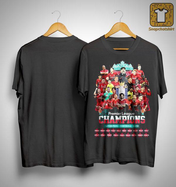 Premier League Champions Liverpool Football Club Shirt