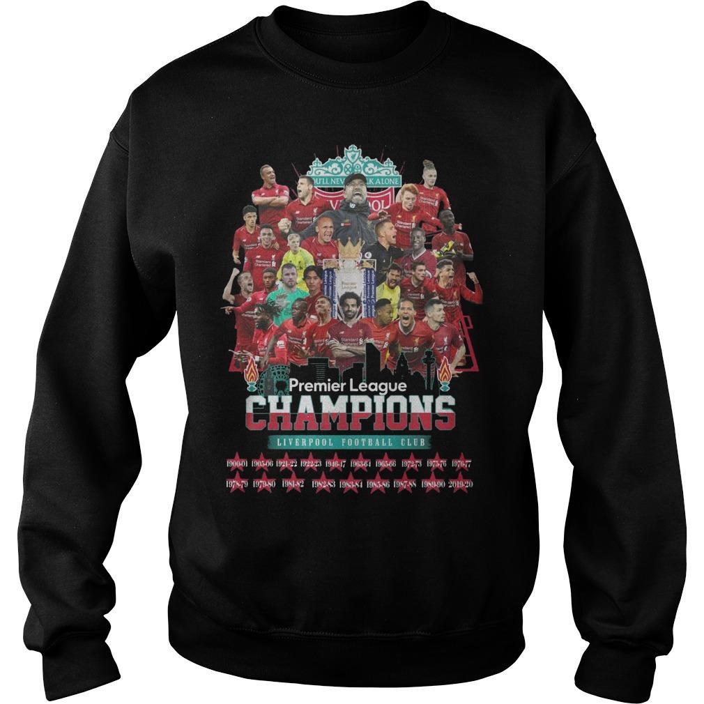 Premier League Champions Liverpool Football Club Sweater