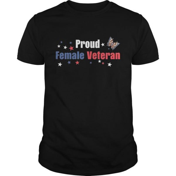 Proud Female Veteran Shirt