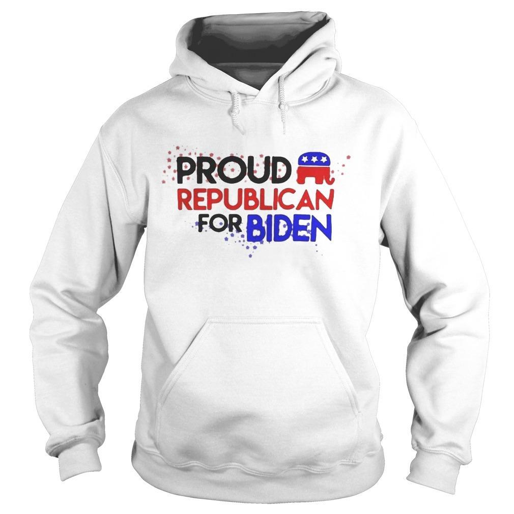 Proud Republican For Biden Hoodie