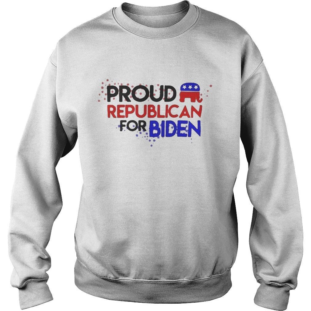 Proud Republican For Biden Sweater
