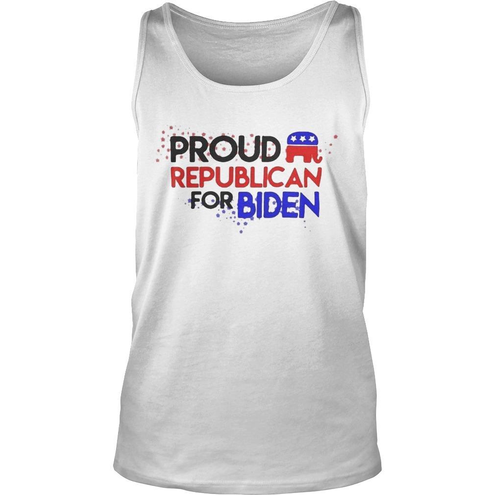 Proud Republican For Biden Tank Top