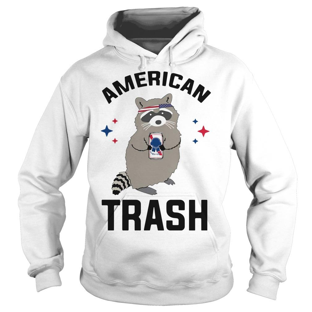 Racoon American Trash Sweater