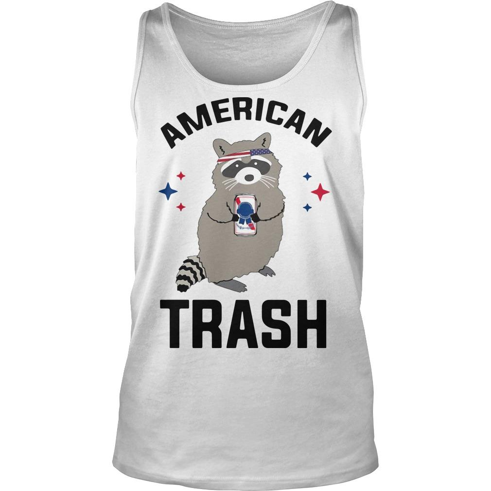 Racoon American Trash Tank Top