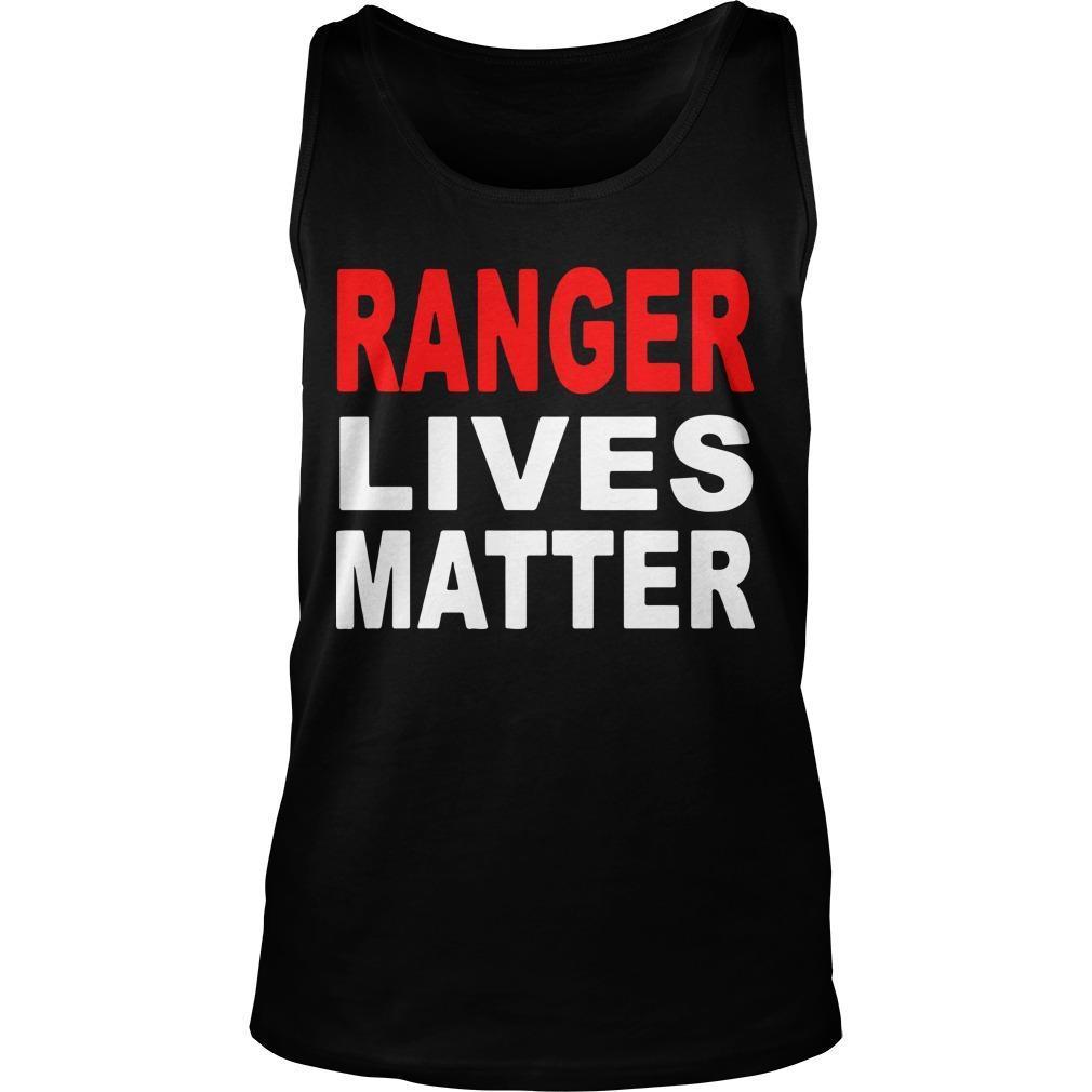 Ranger Lives Matter Tank Top