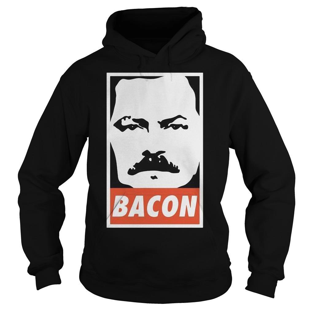 Ron Swanson Bacon Hoodie