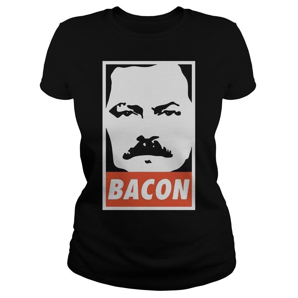 Ron Swanson Bacon Longsleeve