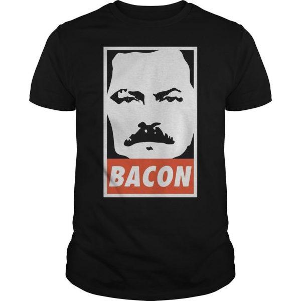 Ron Swanson Bacon Shirt