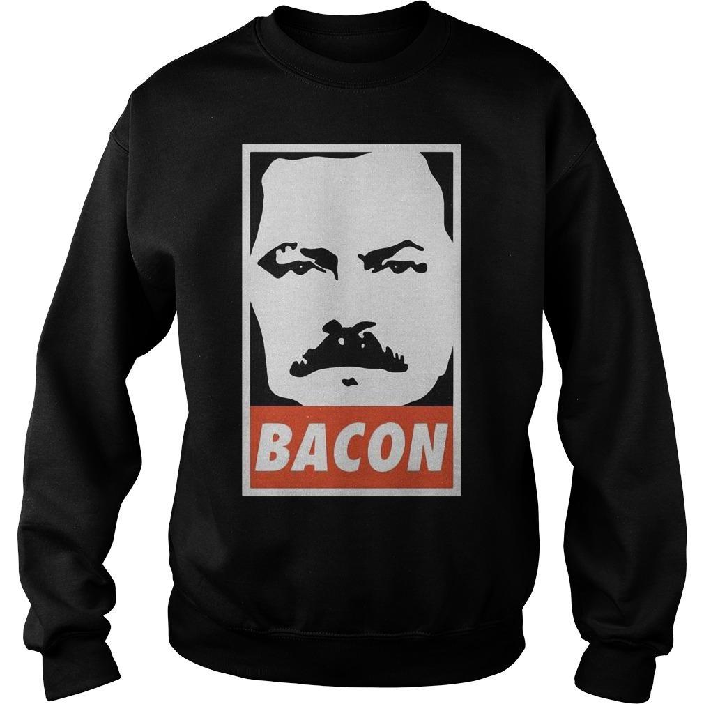 Ron Swanson Bacon Sweater