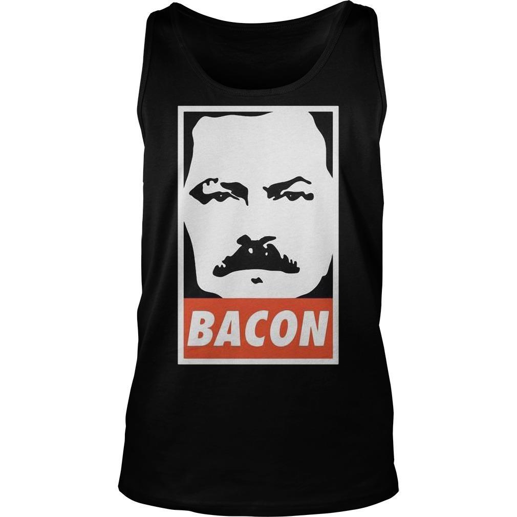 Ron Swanson Bacon Tank Top