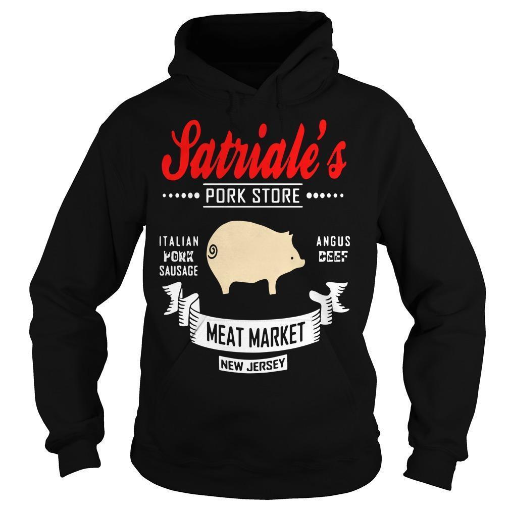 Satriale's Pork Store Italian Pork Sausage Angus Beef Meat Market Hoodie