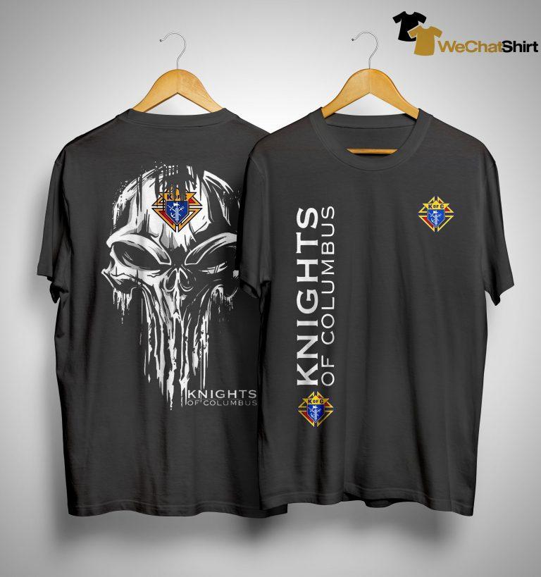 Skull Knights Of Columbus Shirt