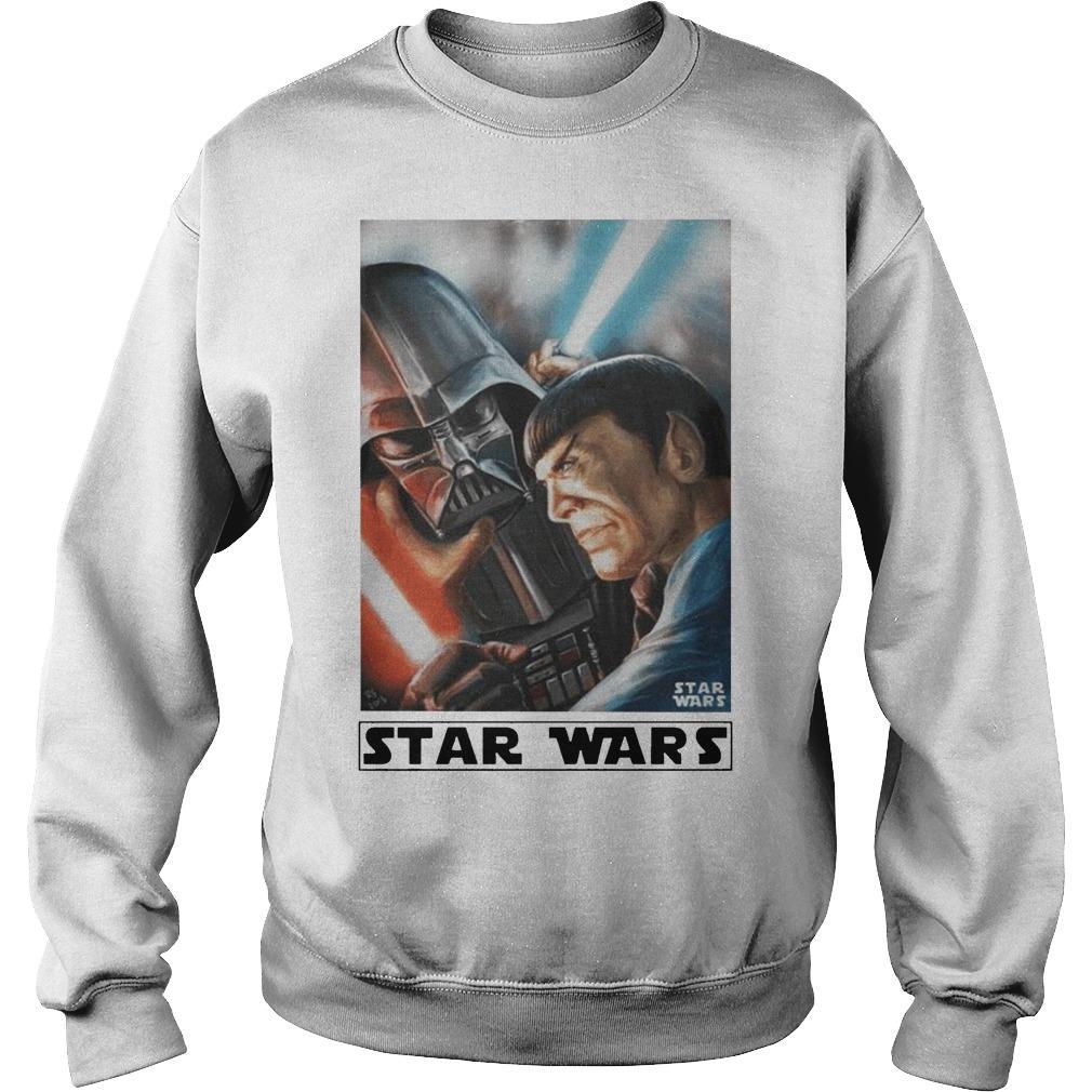 Star Trek Meets Star Wars Sweater