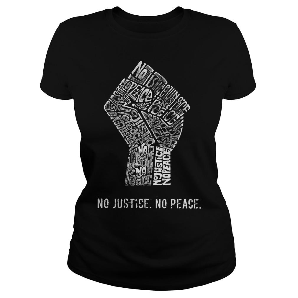 Strong Hand No Justice No Peace Longsleeve