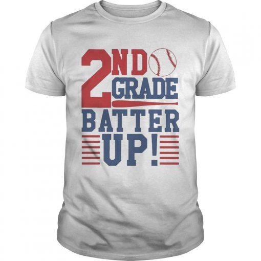 Tennis 2nd Grade Batter Up Shirt