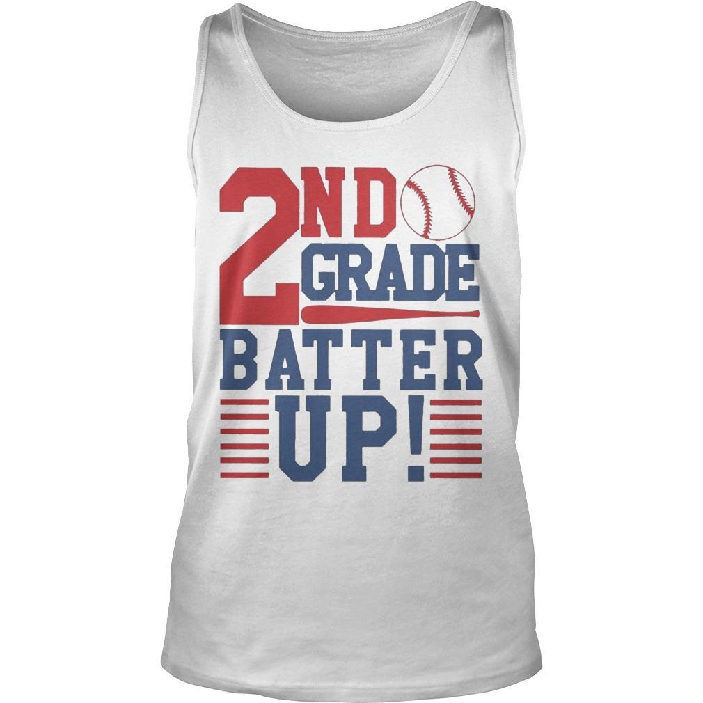 Tennis 2nd Grade Batter Up Tank Top