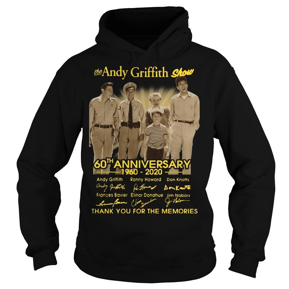 The Andy Griffith Show 60th Anniversary Thank You For The Memories Hoodie