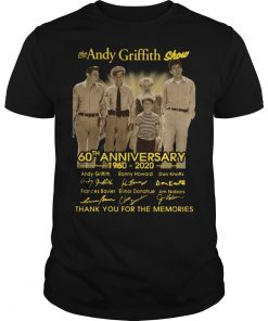 The Andy Griffith Show 60th Anniversary Thank You For The Memories Shirt