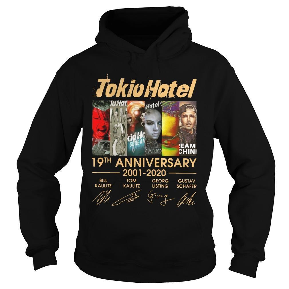 Tokio Hotel 19th Anniversary Bill Kaulitz Tom Kaulitz Georg Listing Hoodie