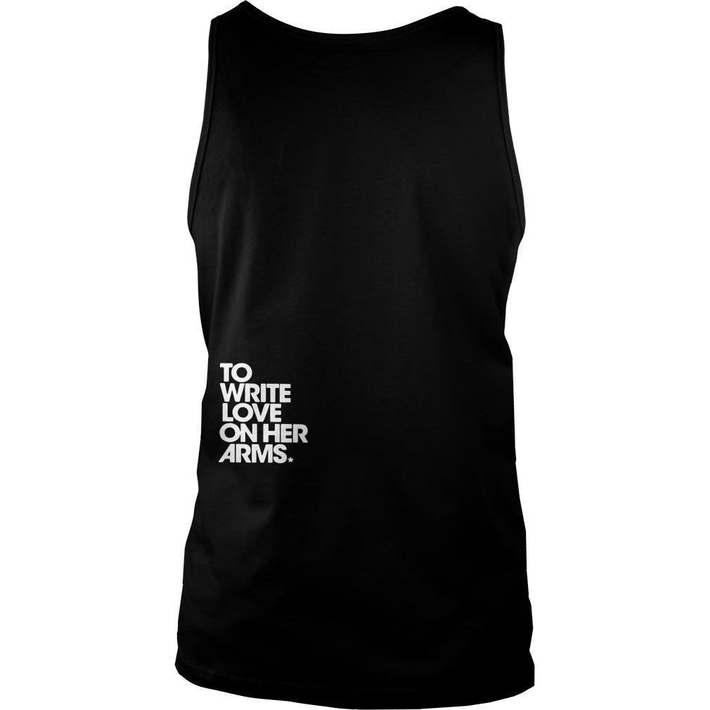 Twloha Who I Am Is Enough To Write Love On Her Arms Tank Top
