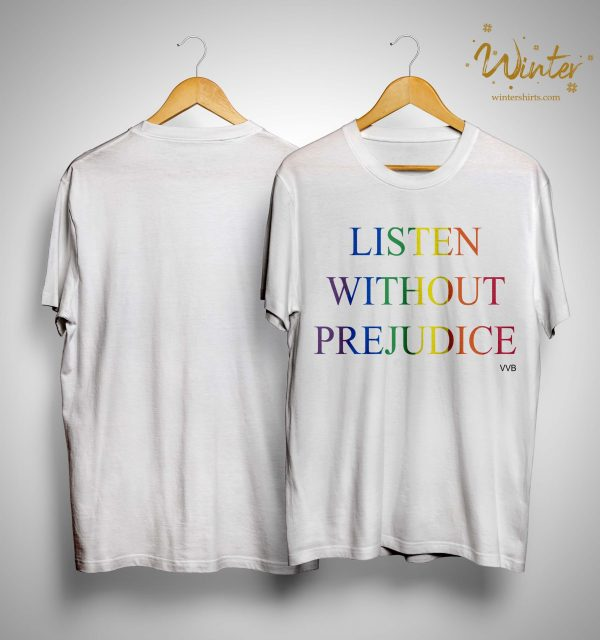 Victoria Beckham Listen Without Prejudice T Shirt