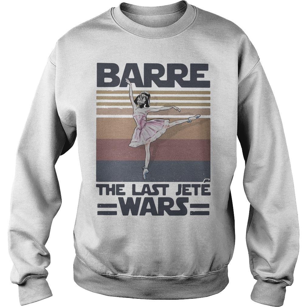 Vintage Barre The Last Jeté Wars Sweater