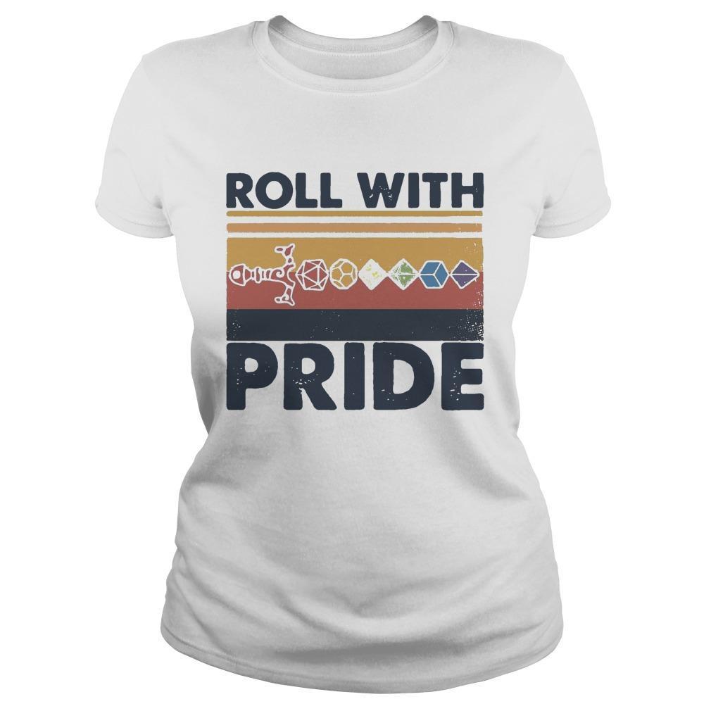 Vintage Dice Sword Roll With Pride Longsleeve
