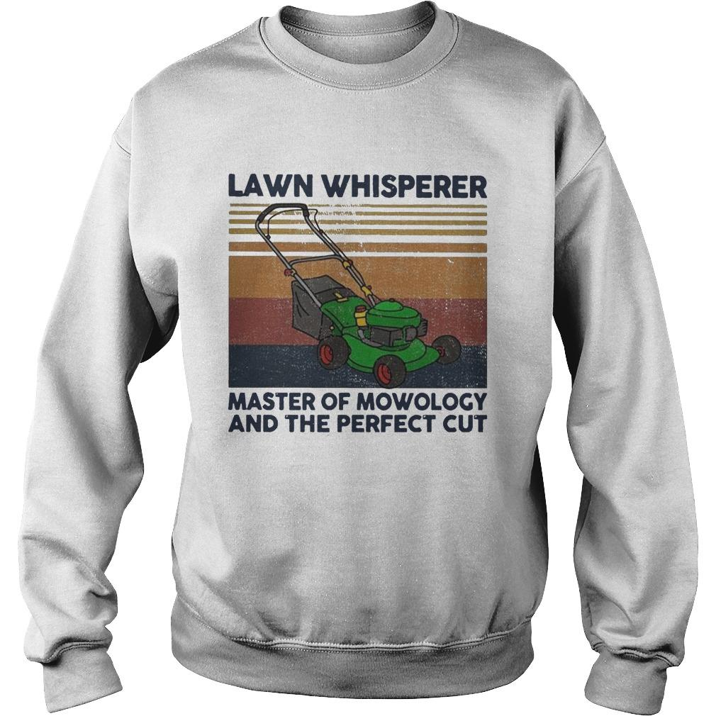 Vintage Lawn Whisperer Master Of Mowology And The Perfect Cut Sweater