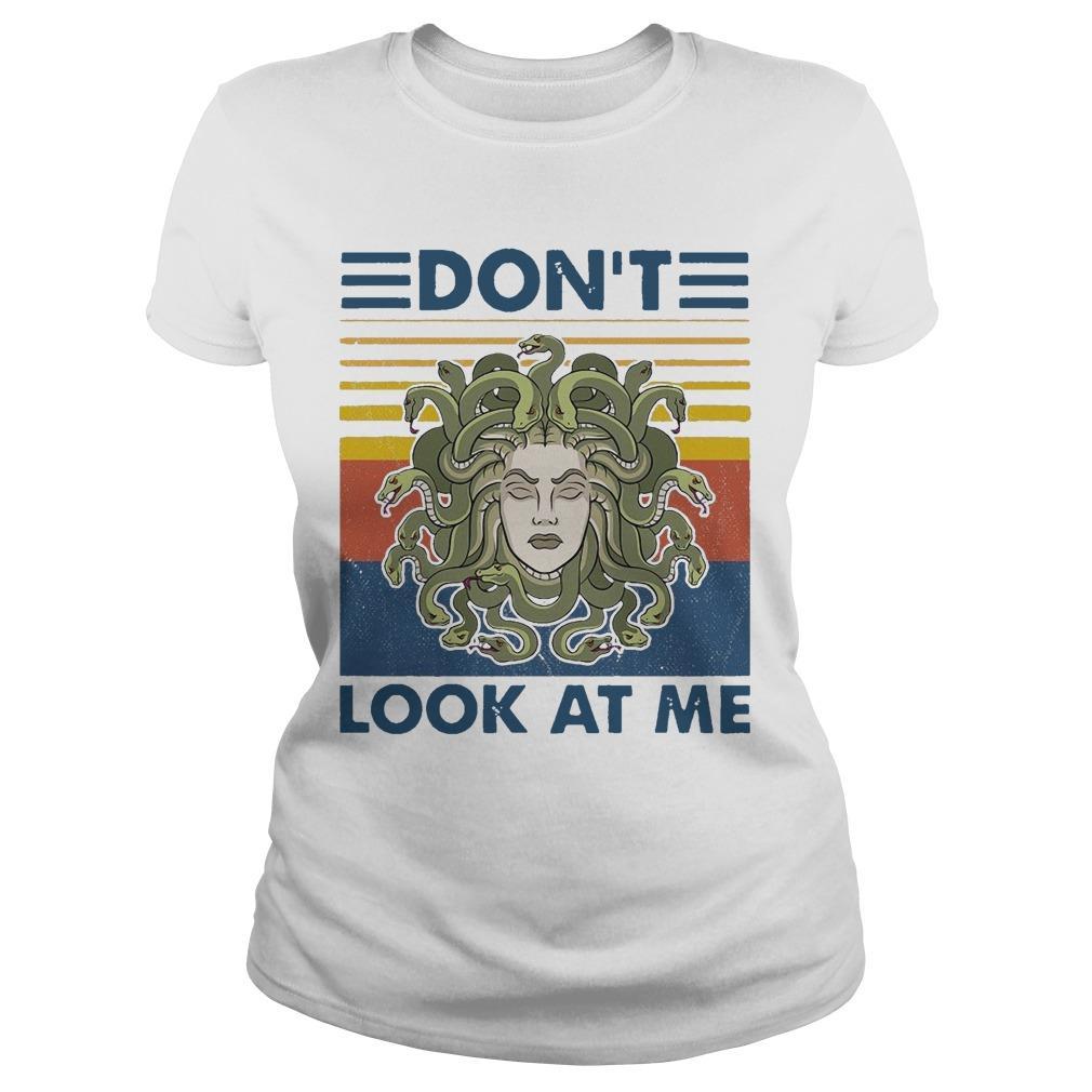 Vintage Medusa Don't Look At Me Longsleeve