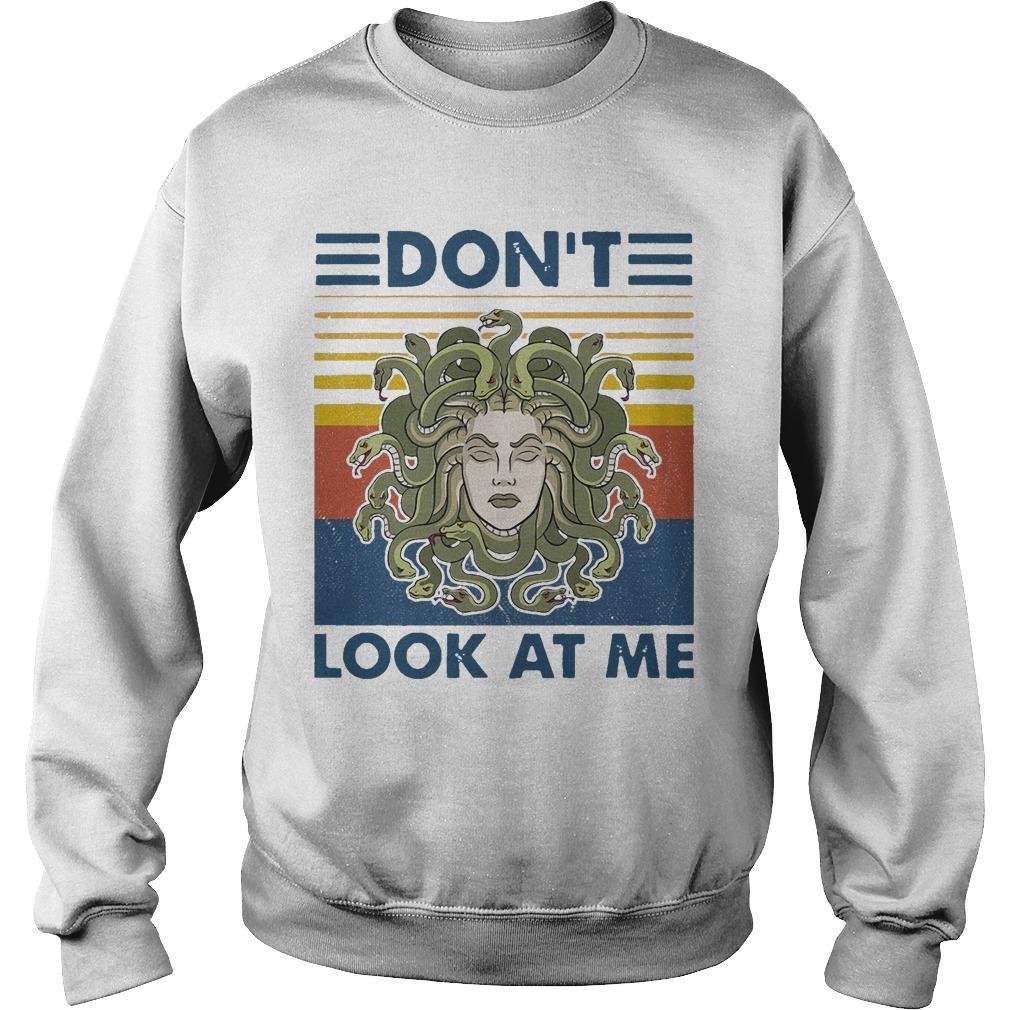 Vintage Medusa Don't Look At Me Sweater