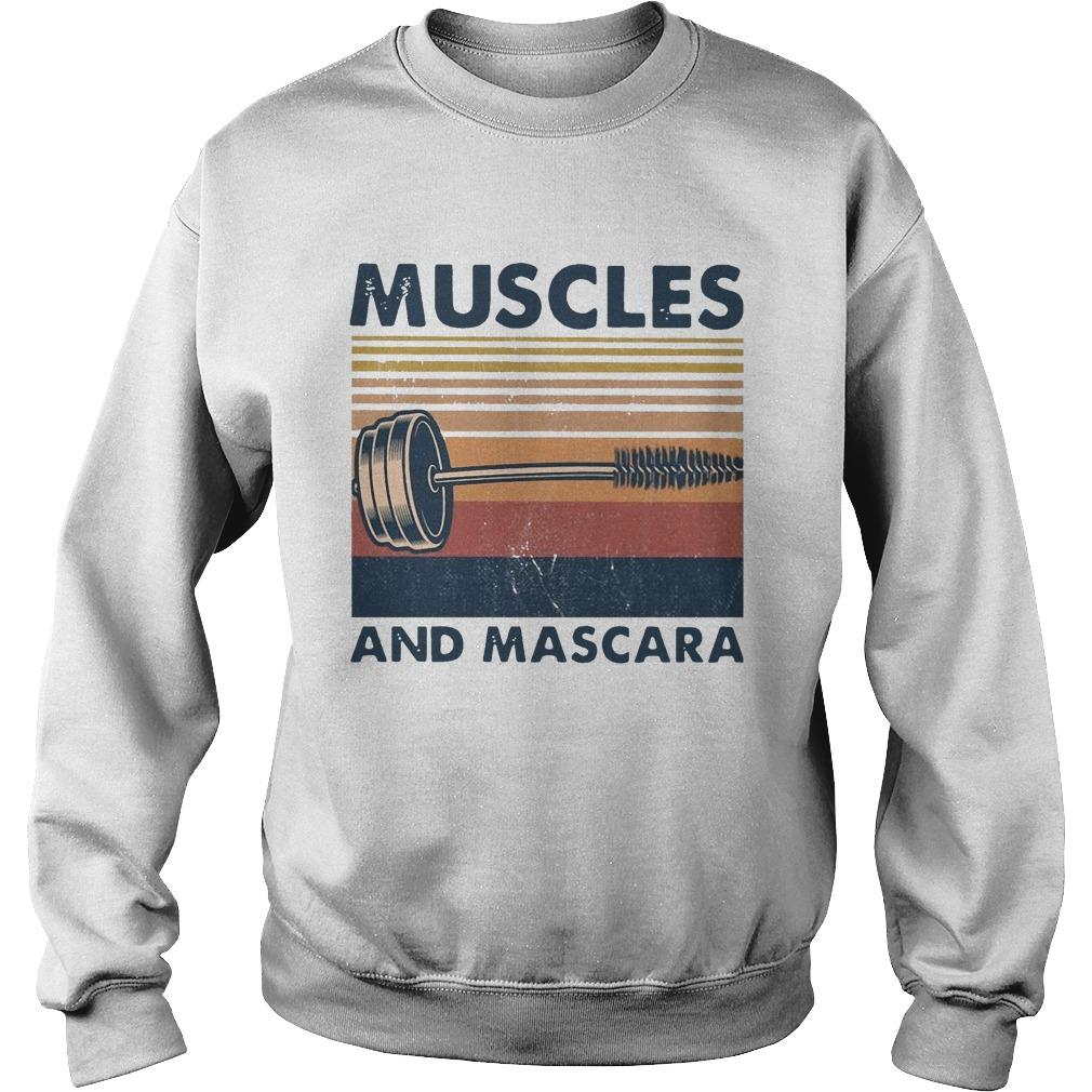 Vintage Muscles And Mascara Sweater