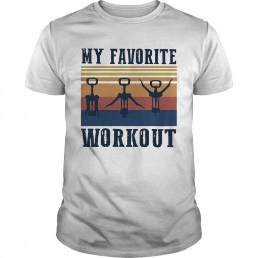 Vintage My Favorite Workout Shirt