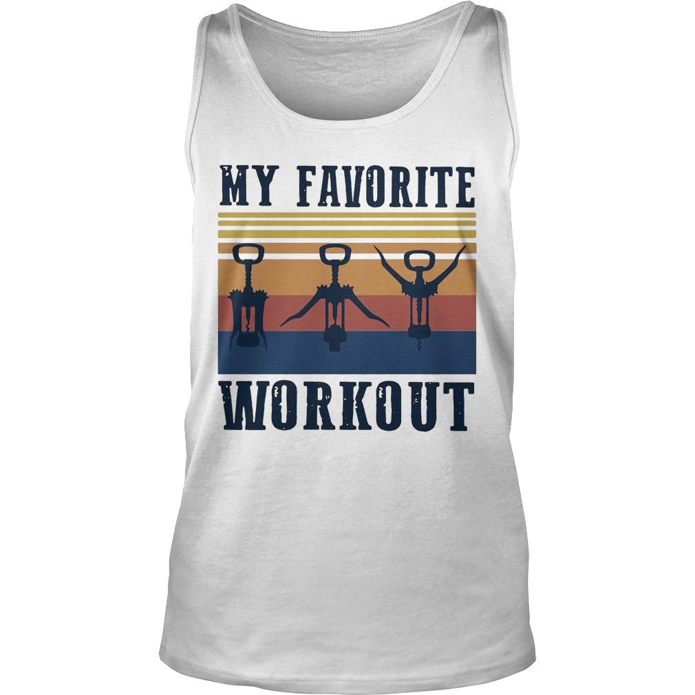 Vintage My Favorite Workout Tank Top