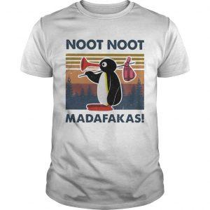 Vintage Penguin Noot Noot Madafakas Shirt