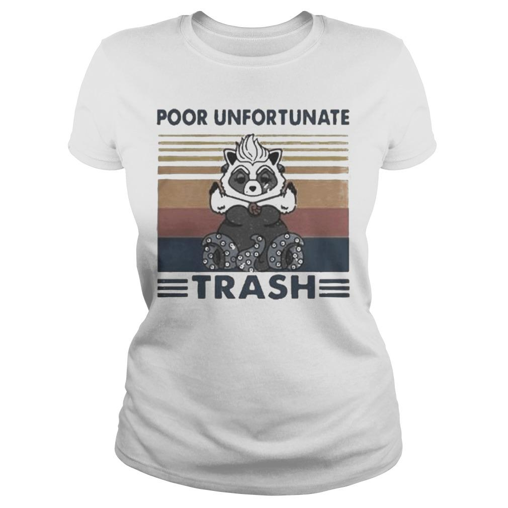 Vintage Poor Unfortunate Trash Longsleeve