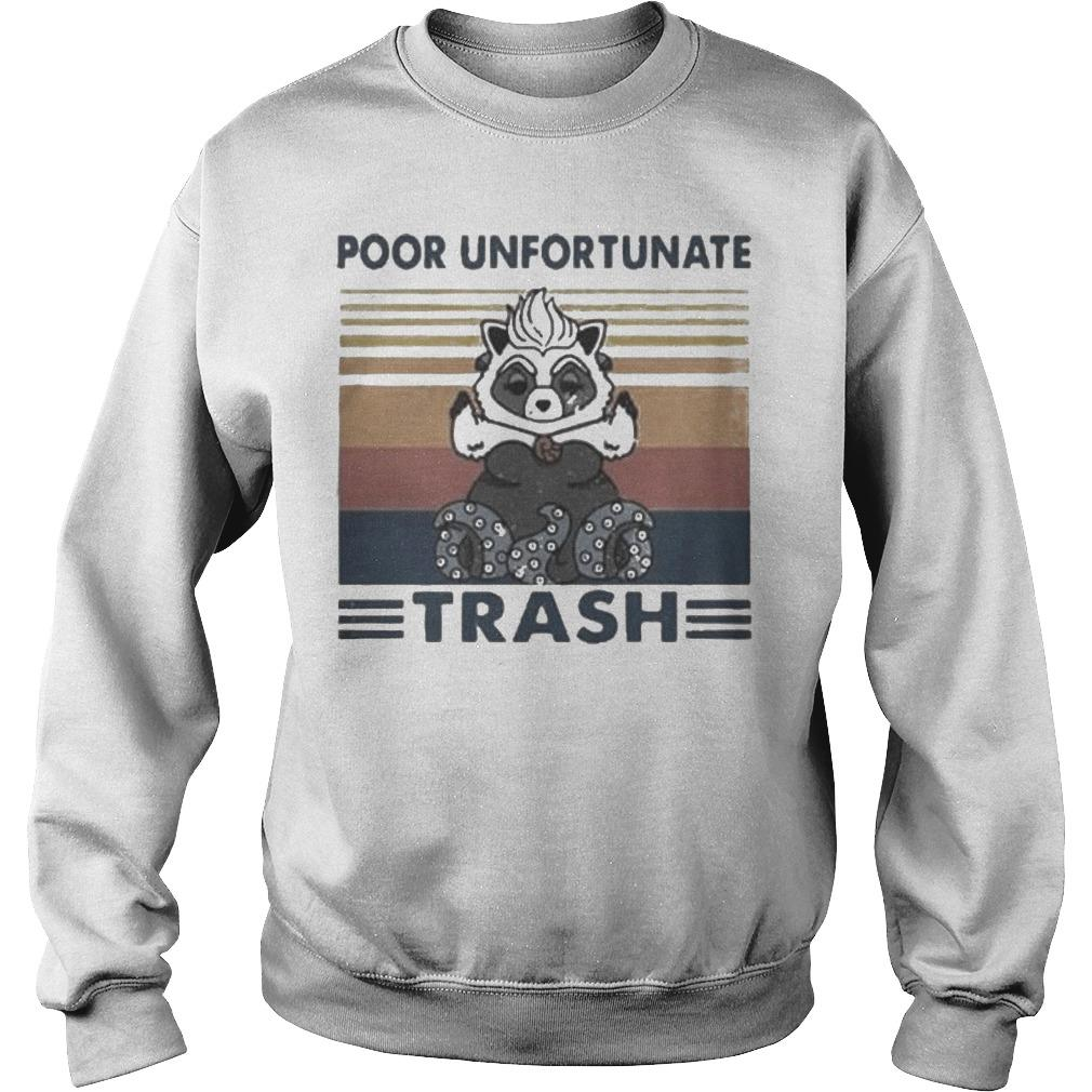 Vintage Poor Unfortunate Trash Sweater