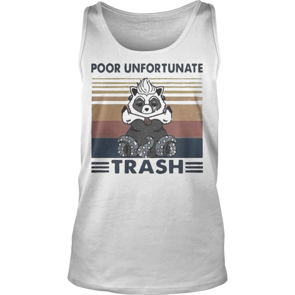 Vintage Poor Unfortunate Trash Tank Top