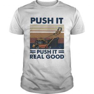 Vintage Push It Push It Real Good Shirt