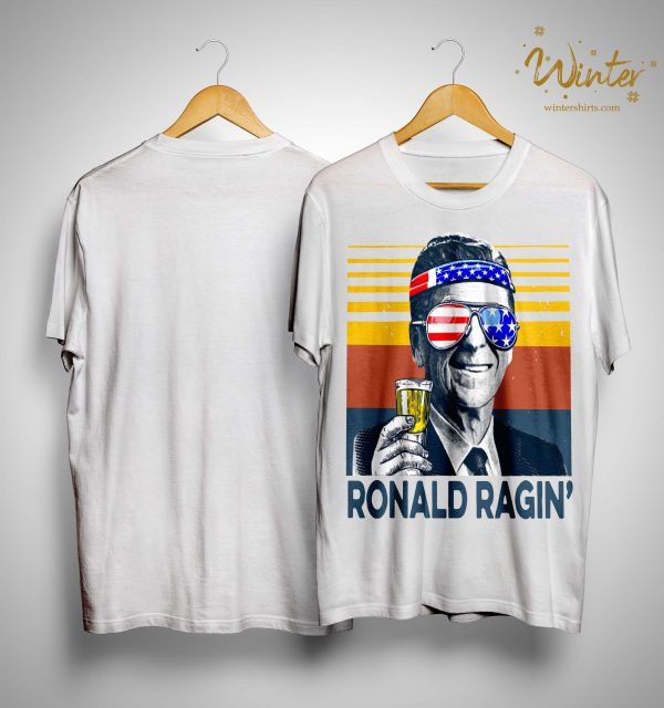 Vintage Ronald Ragin' Shirt