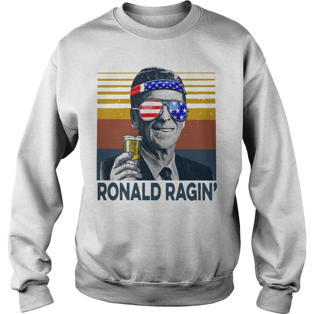 Vintage Ronald Ragin' Sweater