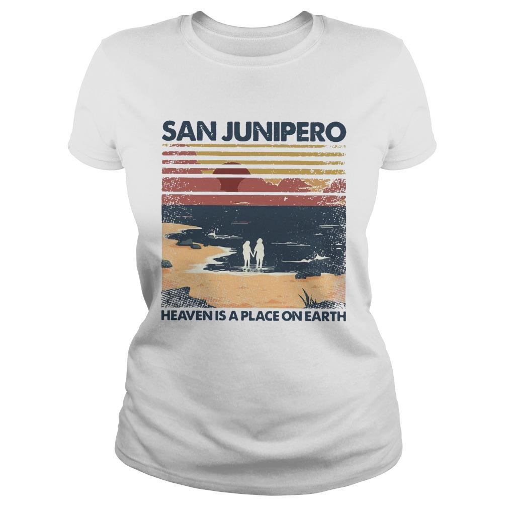 Vintage San Junipero Heaven Is A Place On Earth Longsleeve
